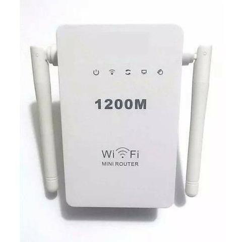 Repetidor wifi com duas antenas