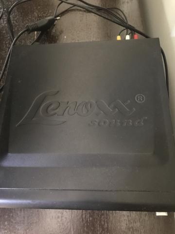 DVD Portátil Lenoxx com controle remoto