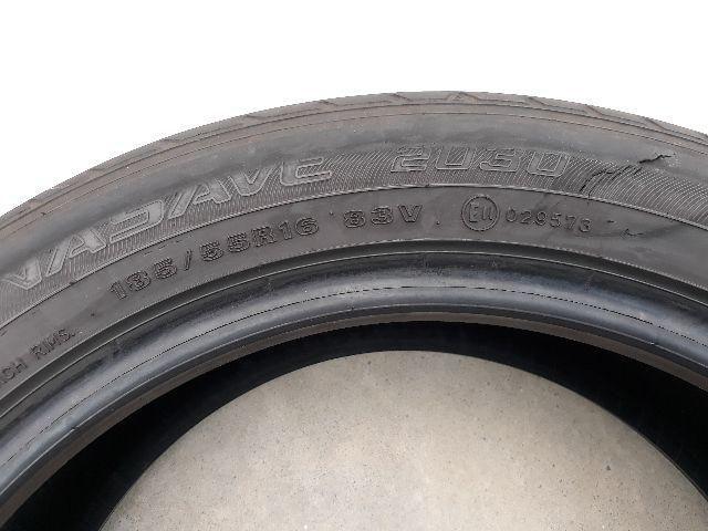 Pneu Usado Para Vulcanização 185/55r16 Dunlop Enasave 2030
