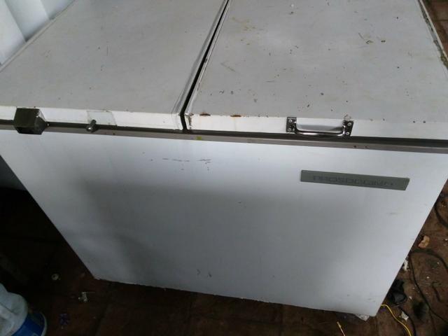 Freezer horizontal 110 v tubulado