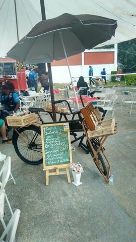 Food bike completa para trabalhar