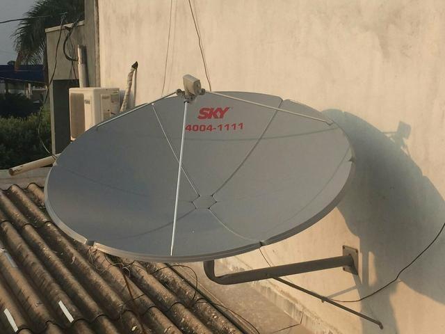 Antena sky entrego
