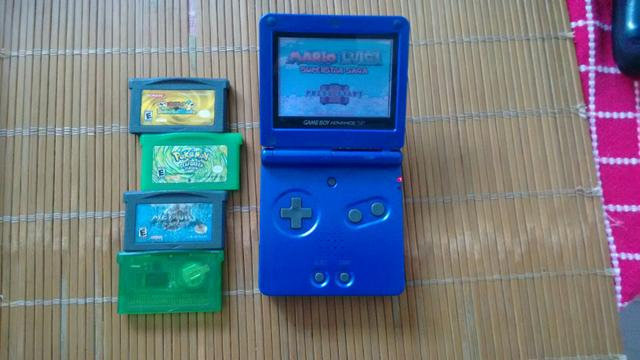 Game Boy advance SP psp