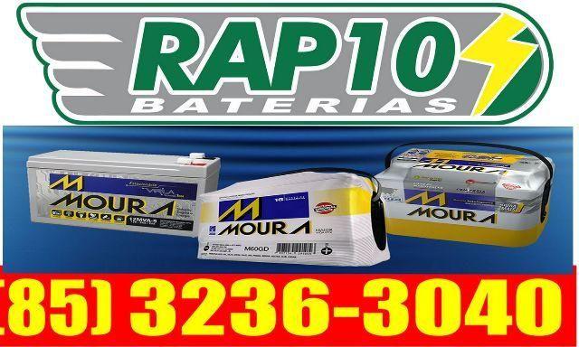 Bateria 75 ah original Moura super oferta