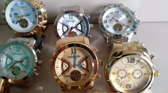 Lindos relógio primeira linha invicta top