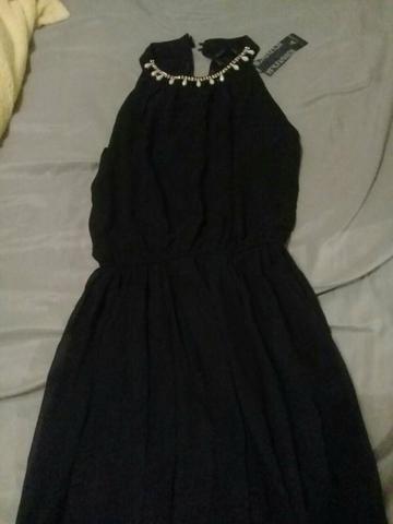 Vestido curto M, vestido longo novos