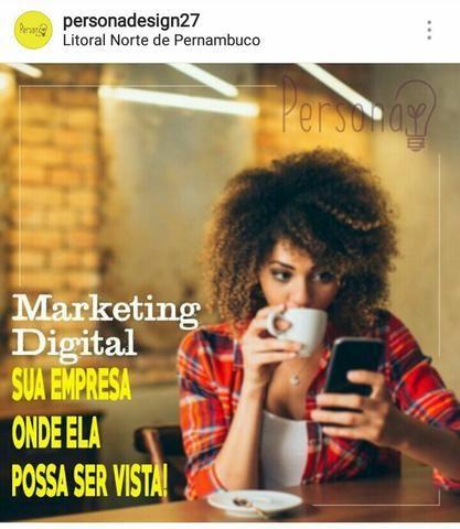 Marketing digital e Design gráfico