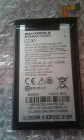 Bateria de moto g 1 e 2