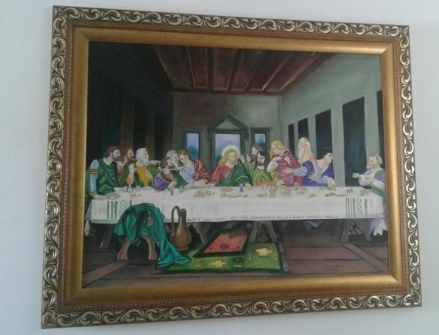 Vendo esse quadro arte sacra