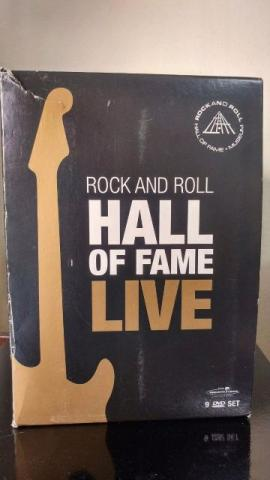 Box 9 Dvds Rock And Roll Hall Of Fame Live