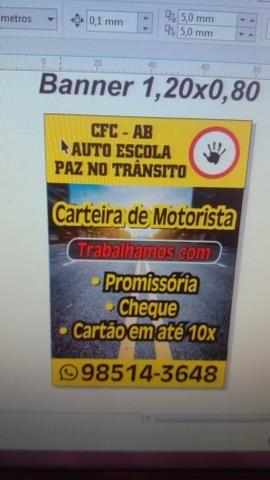 Carteira de Motorista por R$999.00 não incluído a taxa detran - Foto 2
