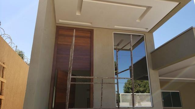 Casa nova 3quartos 3suites piscina churrasqueira rua5 Vicente Pires - Foto 2