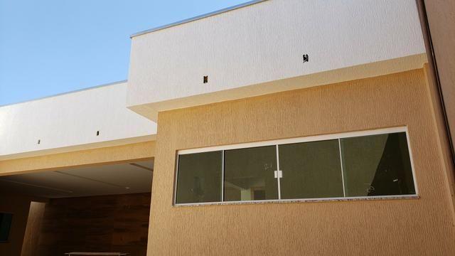 Casa nova 3quartos 3suites piscina churrasqueira rua5 Vicente Pires - Foto 9