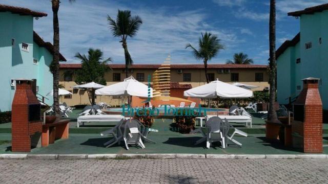 Apartamento com 2 dormitórios à venda, 48 m² por R$ 220.000,00 - Taperapuã - Porto Seguro/