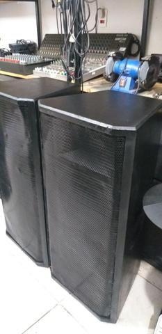 Par de caixas passivas 2 falantes snaker cada c/ drivin oversound - Foto 2