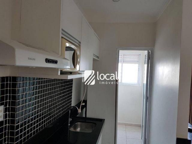 Apartamento para alugar, 40 m² por R$ 1.500,00/mês - Vila Redentora - São José do Rio Pret - Foto 14
