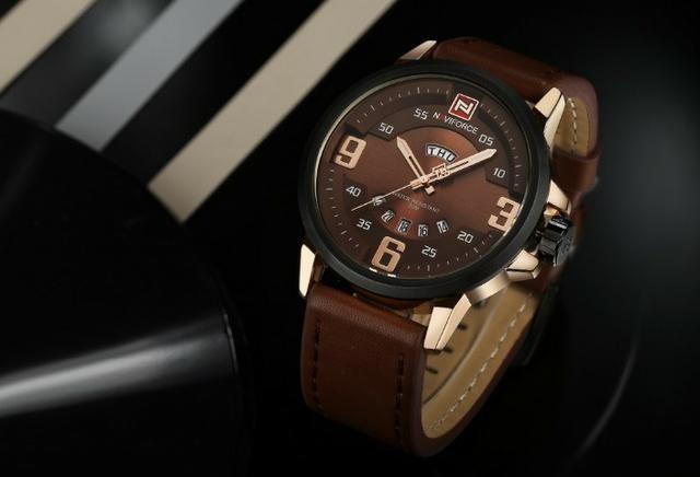 b6c80459ea5 Relógio Masculino Luxo