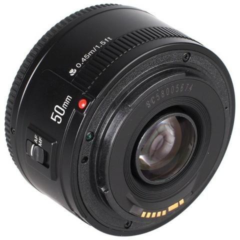Lente Yongnuo YN50mm F1.8 Para Canon