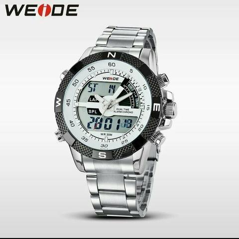 11d30e1e48a Relógio Weide Original Digital e Analógico - Bijouterias