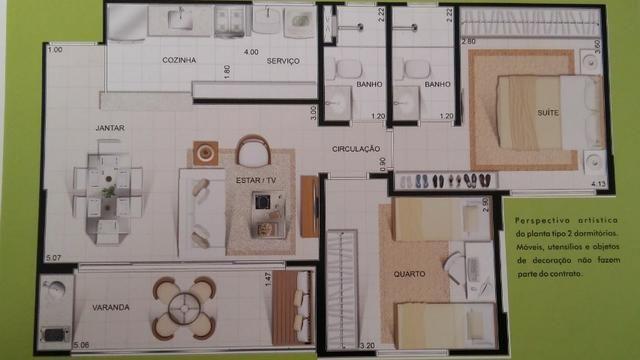 Apto 2 quartos - Condomínio New Park - Parque Cascavel - Jardim Atlântico - Foto 2