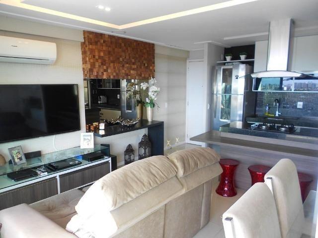 Apartamento no Allegro 14º andar, todo projetado, 3 quartos, 2 vagas - Foto 2