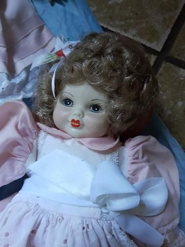Vendo lindas bonecas porcelana - Foto 3