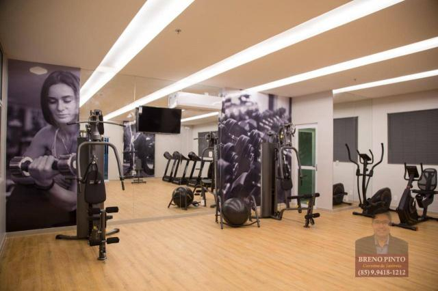 Apartamento com 3 dormitórios à venda, 110 m² por R$ 719.900,00 - Aldeota - Fortaleza/CE - Foto 6