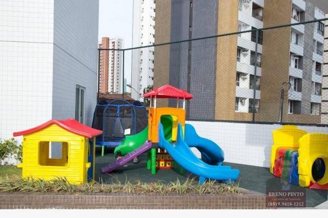 Apartamento com 3 dormitórios à venda, 110 m² por R$ 719.900,00 - Aldeota - Fortaleza/CE - Foto 15