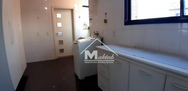 Cobertura com 4 suíte, para alugar, 395 m² por R$ 7.000/mês - Vila Valparaíso - Santo Andr - Foto 13