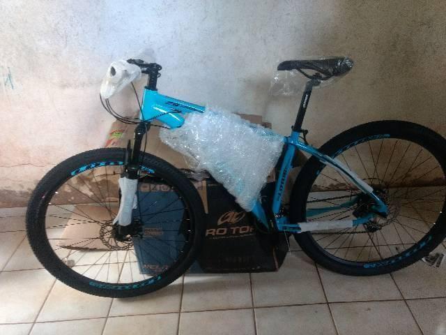 Bike nova na promoção