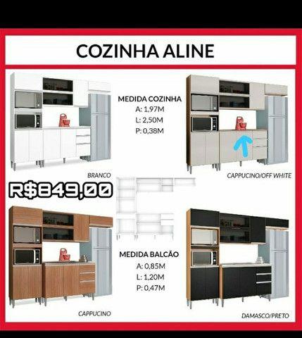 Cozinha Aline / entregamos e montamos