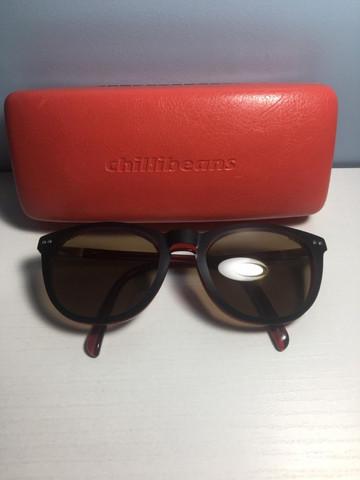 Óculos multi grau/sol vermelho - Foto 4