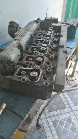 Carbecote de motor mwm seri 10 turbinado e intecolado  - Foto 3