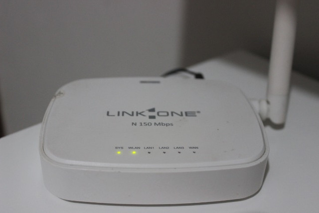 Roteador Link One 1 antena 150 Mbps