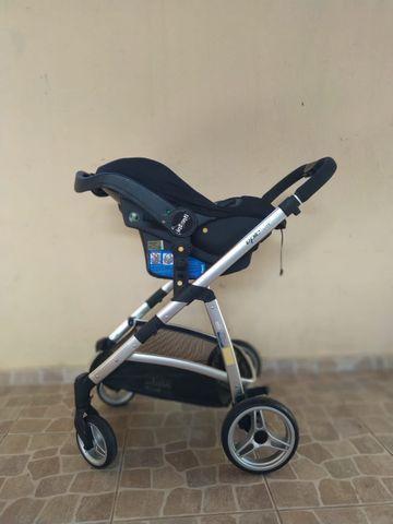 Carrinho com bebê Infanti conforto Travel System - Foto 3