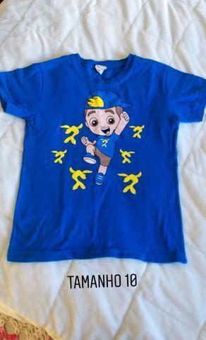 Camisetas infantil menino TAM 6,8 e 10. Preço acessível - Foto 5