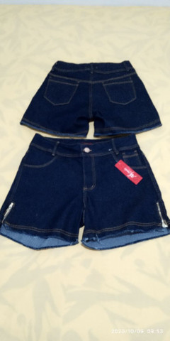 Short jeans plus size feminino - Foto 3