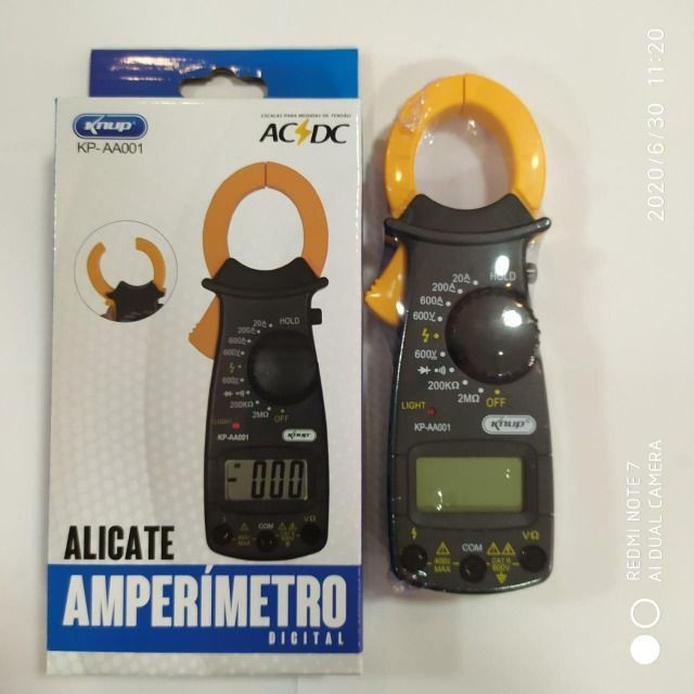 Alicate Amperímetro Modelo KP-AA001 - Knup