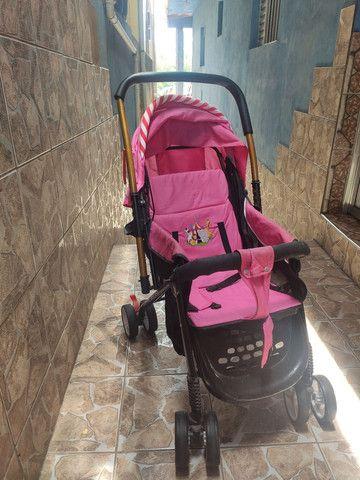 Carrinho, bebê conforto e Andador - Foto 2