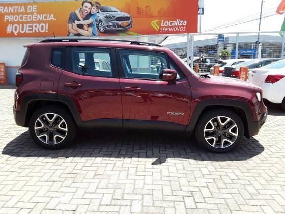 RENEGADE 2019/2019 1.8 16V FLEX LONGITUDE 4P AUTOMÁTICO - Foto 9