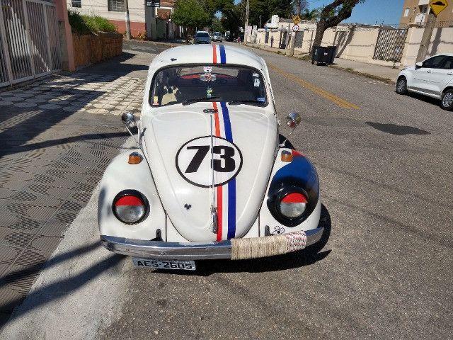 Fusca 1971 1500 branco - Foto 7