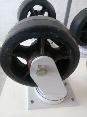 RODÍZIO DE ALTA CARGA 500 kg cada - Foto 3