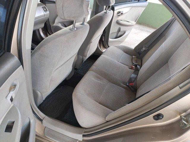 Corola  1.6 Automático  2009  ótima conservação  - Foto 6