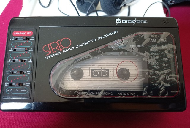 Walkman BrokSonic top. Coleção. - Foto 5