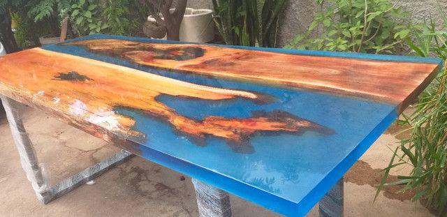 Mesas River table, fabricamos sob medida - Foto 5