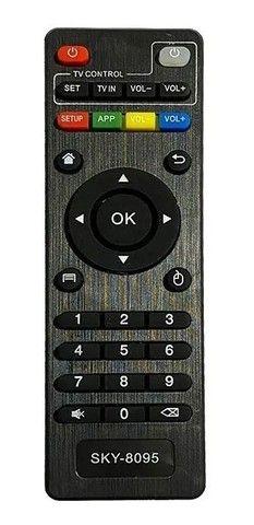 Controle Remoto Sky-8095 Para Tv Box - Loja Natan Abreu  - Foto 2
