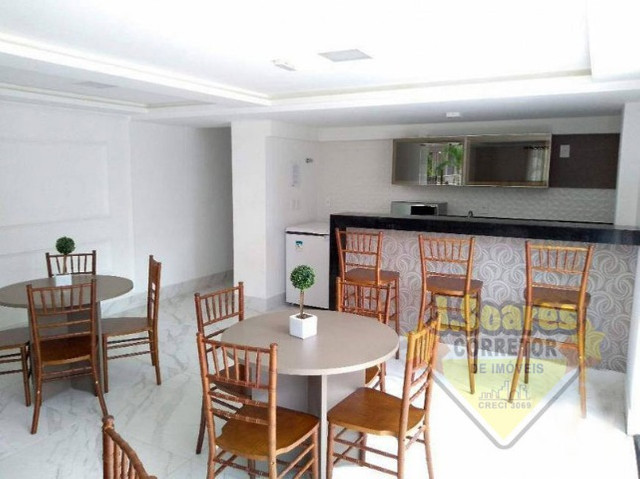 Tambaú, 2 qts, 58,22m², coz, R$ 330.000, Venda, Apartamento, João Pessoa - Foto 5