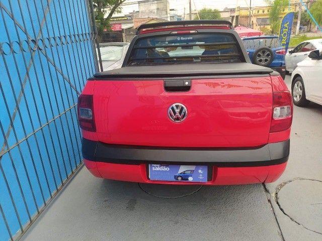 Volkswagen Saveiro 1.6 Rock in Rio Flex Completo 2016 GNV - Foto 5