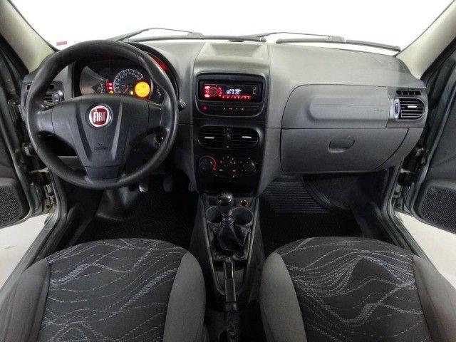 Fiat Strada Hard Working Cab. Estendida 1.4 Flex 2p Cinza - Foto 7