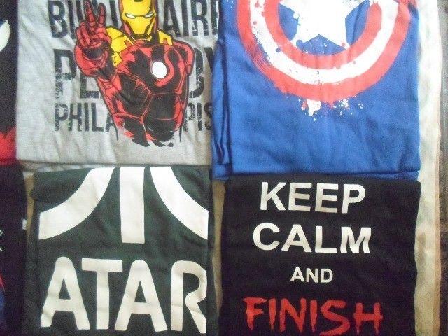 camisas temas game, geek, nerd - Foto 5